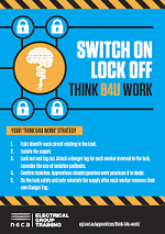 Switch On Lock Off flyer